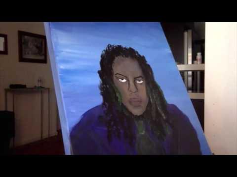Chris Travis - 9k Freestyle timelapse painting