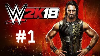 WWE 2K18 Walkthrough Gameplay Part 1 – Universe Mode PS4 1080p Full HD – No Commentary