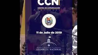 INFORME DE GESTIÓN DEL PRESIDENTE GUAIDO  jueves 11/07/2019