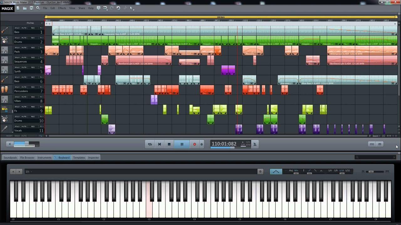 maker music magix electro
