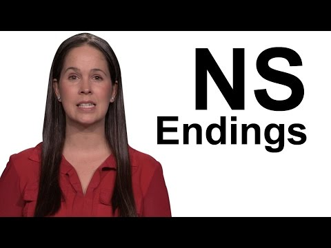 [Advanced] NS Endings – American English Pronunciation