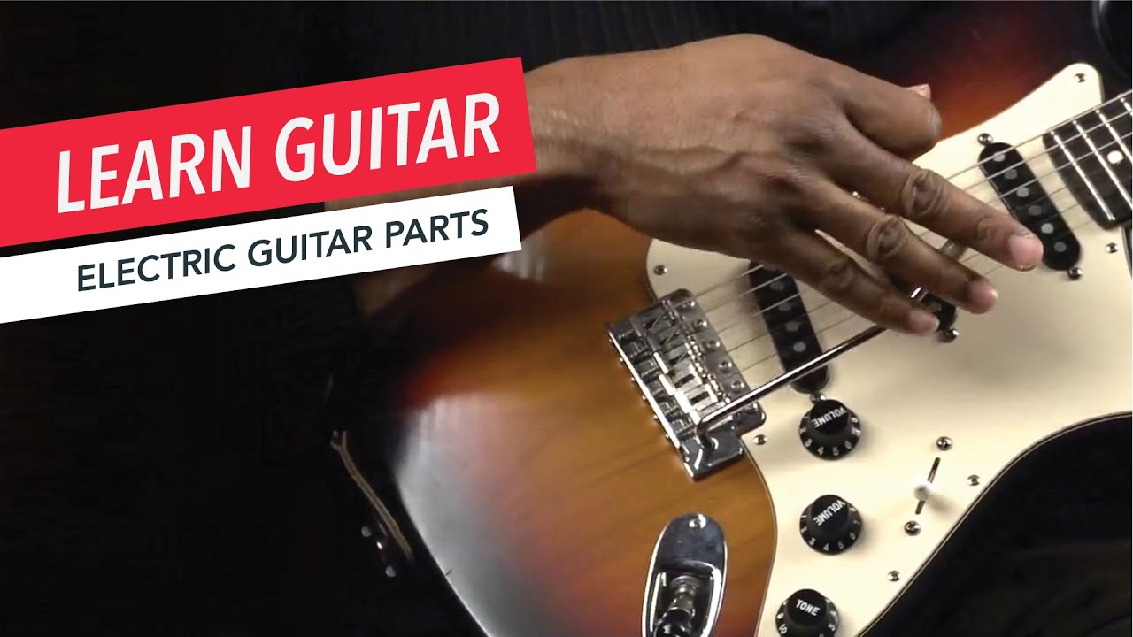 Beginner Guitar Lessons What Are The Parts Of An Electric To String A Guitarguitar Technique Acoustic Lesson