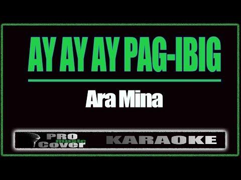 Ay Ay Ay Pag-ibig - ARA MINA (KARAOKE)
