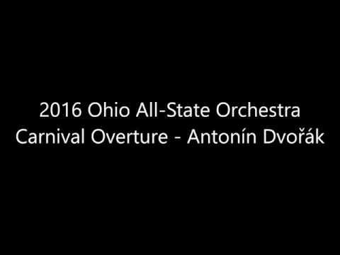 2016 Ohio All-State Orchestra - Carnival Overture (Antonin Dvorak)