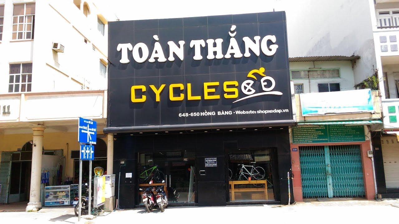[TOAN THANG CYCLES] Showroom Xe đạp 648-650 Hồng Bàng, P16, Q11, TP HCM