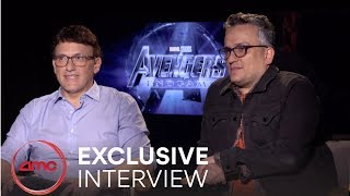 AVENGERS: ENDGAME - Exclusive Interview (Anthony Russo & Joe Russo) | AMC Theatres (2019)