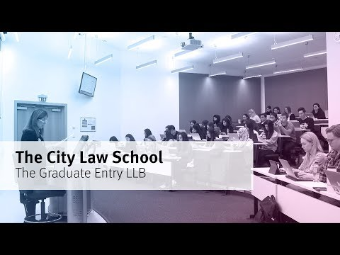 The Graduate Entry LLB at The City Law School