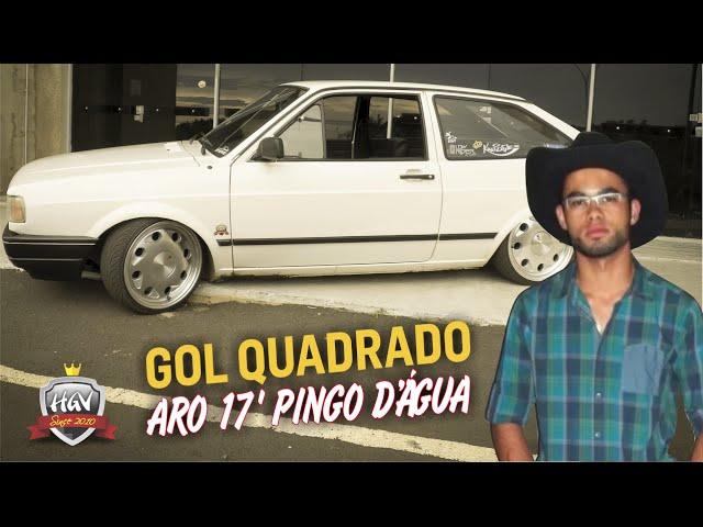 Gol Quadrado (G1) Rosca + Aro 17 Pingo Dágua