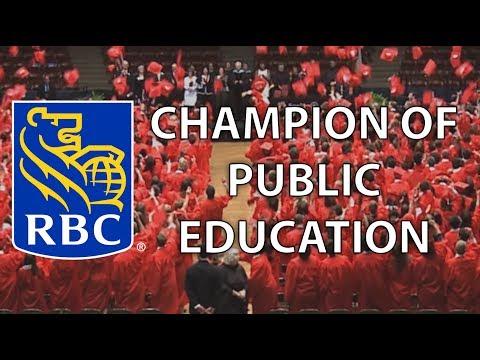 Royal Bank of Canada - Champion of Public Education 2017
