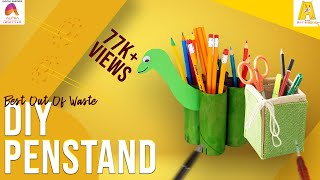 DIY : Penstand | Best Out Of Waste | Empty Plastic Bottles Penstand
