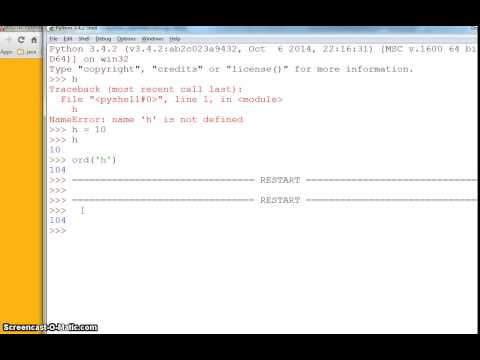 python programming – interactive and script mode