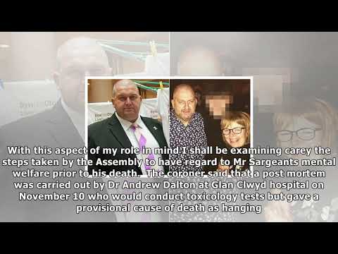 Carl sargeant 'hanged himself after leaving a note for his wife' | News 24H TV