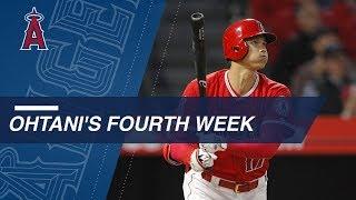 Shohei Ohtani's fourth week in Major League Baseball