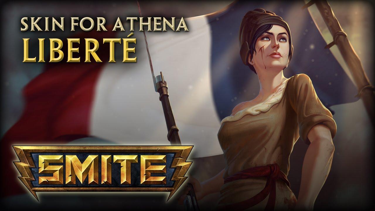 ArtStation - SMITE- Athena, Ben Knapp