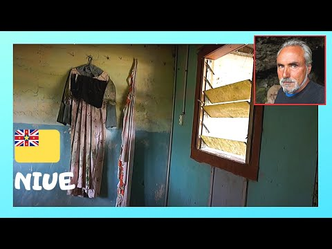 NIUE: EMPTY, ABANDONED HOMES after HUGE CYCLONE, a nostalgic journey (Pacific Ocean)