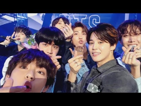 BTS (방탄소년단) 'FAKE LOVE' Self MV @Music Bank Encore stage