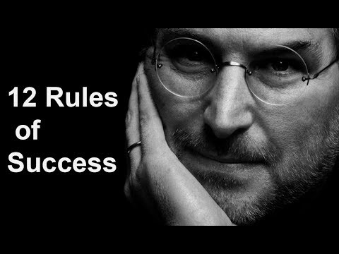 Steve Jobs's Top 12 Rules For Success (Must Watch)