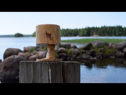 Carving Wooden Mug From Scrap Wood