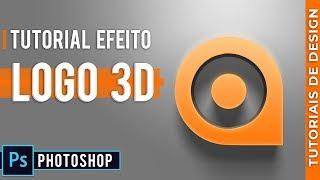 Como Criar Logo 3D no Photoshop em 7 Minutos. Tutorial Passo a Passo