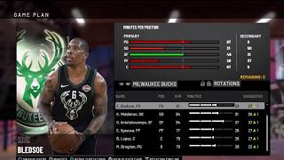 How to Assign a Created Player to a Team in NBA 2K19
