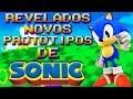 Revelados Protótipos de Vários Games do Sonic e outros!
