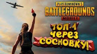 PUBG Mobile - ТОП 1 ЧЕРЕЗ СОСНОВКУ! - Мобильный Battlegrounds