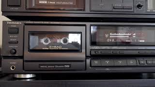 Technics RS-BX606 Cassette Deck/Sony Metal SR Tape (Direct-in Audio)