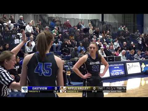 High School Girls Basketball: Eastview vs. Apple Valley; Section 3AAAA final