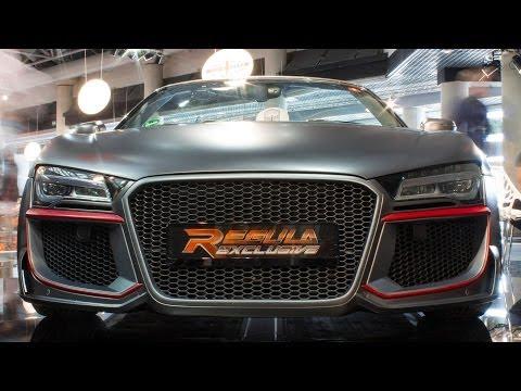 REGULA R8 V10 SPYDER - MONACO TOP MARQUES 2014 HQ