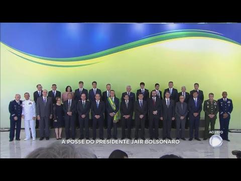 Assista ao vivo à posse do presidente Jair Bolsonaro