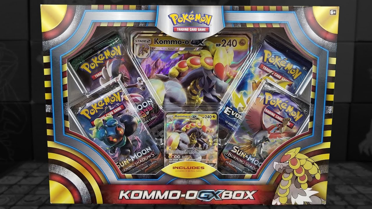 pokemon gx box