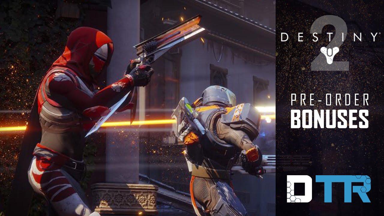 2dfaa08e0dd Destiny 2  Pre-Order Bonuses! Union of light Emblem CODE! - YouTube