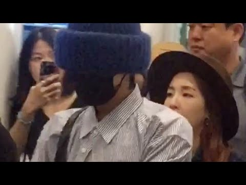 G DRAGON AND SANDARA PARK ARRIVED SAFELY IN KUALA LUMPUR 170916