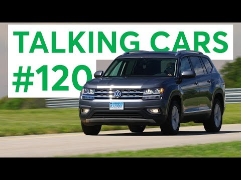 The 2018 Volkswagen Atlas, Tiguan & Viewer Questions | Talking Cars with Consumer Reports #120