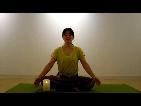 Om Trayambakam - Mahamrtyunjaya Mantra - Sivananda Yoga Closing Mantra トラヤムバカン シヴァナンダヨガ 終わりのマントラ