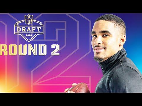 Round 2 EVERY Pick & Analysis: Eagles Take A QB?   2020 NFL Draft