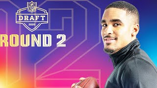 Round 2 EVERY Pick & Analysis: Eagles Take a QB? | 2020 NFL Draft