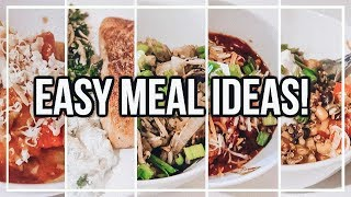 EASY 1 PERSON MEAL IDEAS! | Healthy Recipes for 1 Person