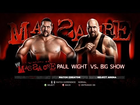 WWE '13  The Big  vs Paul Wight Mirror Match