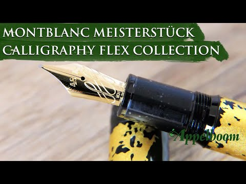 Montblanc Meisterstück Calligraphy Flex Collection Overview