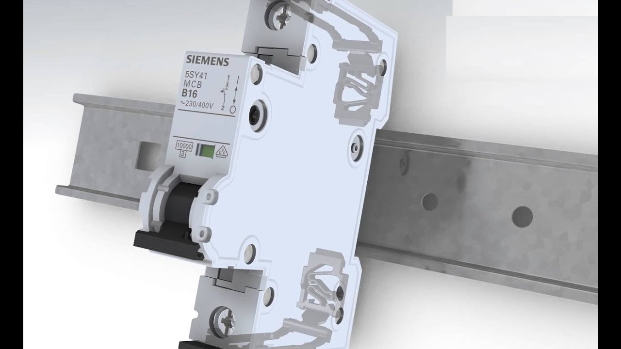 medium resolution of how to wire install single pole mcb circuit breaker