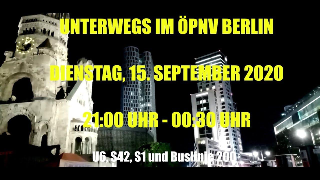 Unterwegs im ÖPNV Berlin - U6, S42, S1 und Buslinie 200