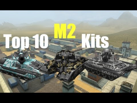 Tanki Online Top 10 Kits M2 By (Gaming_Ion)