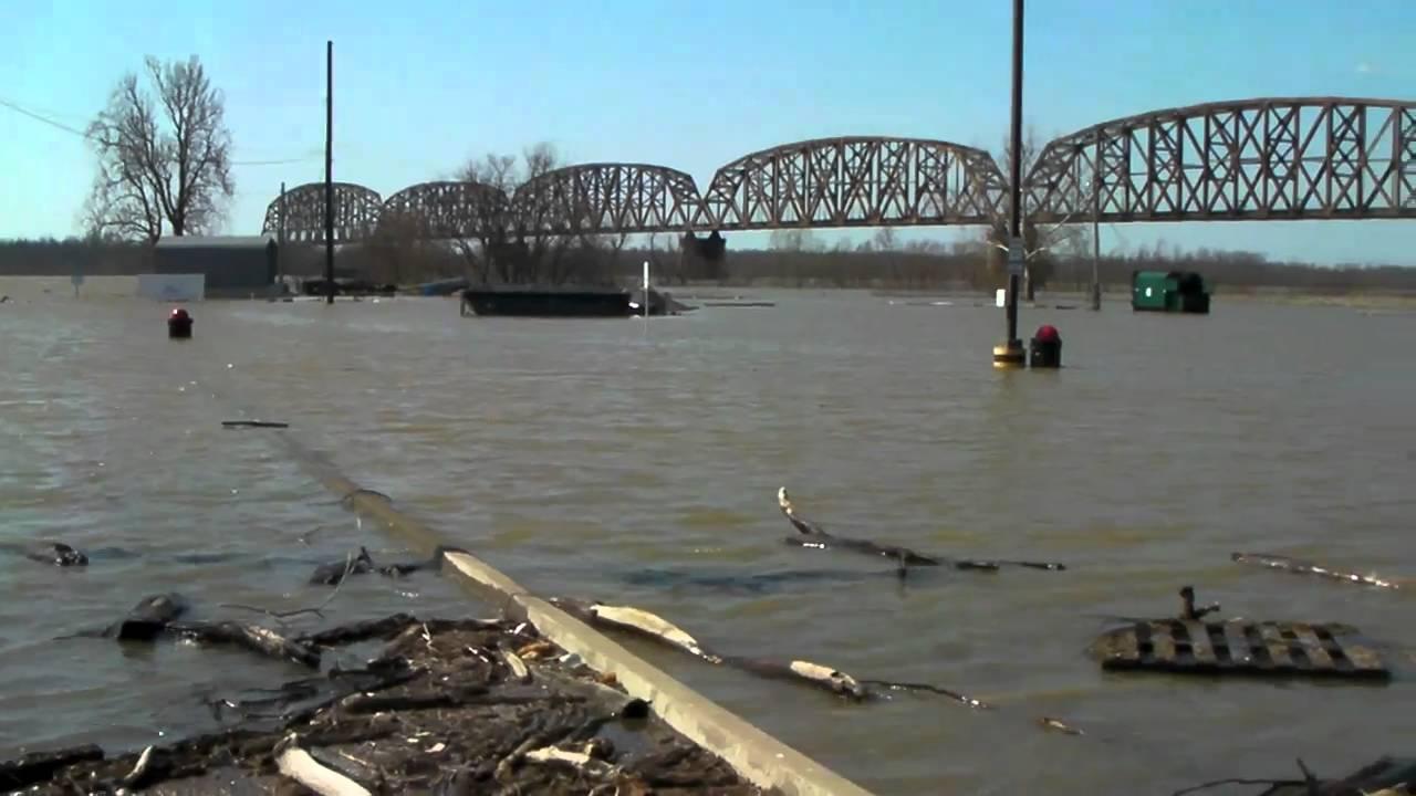 Flooding Harrahs Casino Metropolis Illinois