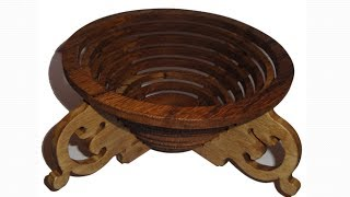Scroll Saw Projects - Concentric Ring Bowl