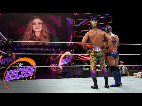 The Lucha House Party vs. Mike Karma & Kraig Keesaman: WWE 205 Live, Nov. 14, 2018