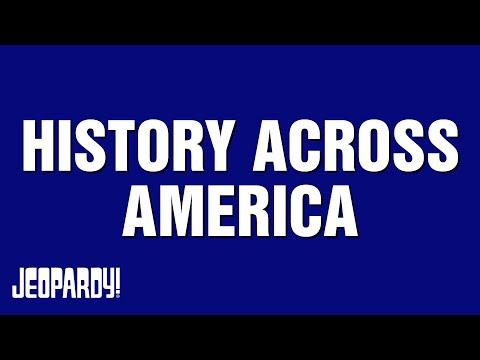 History Across America | JEOPARDY!