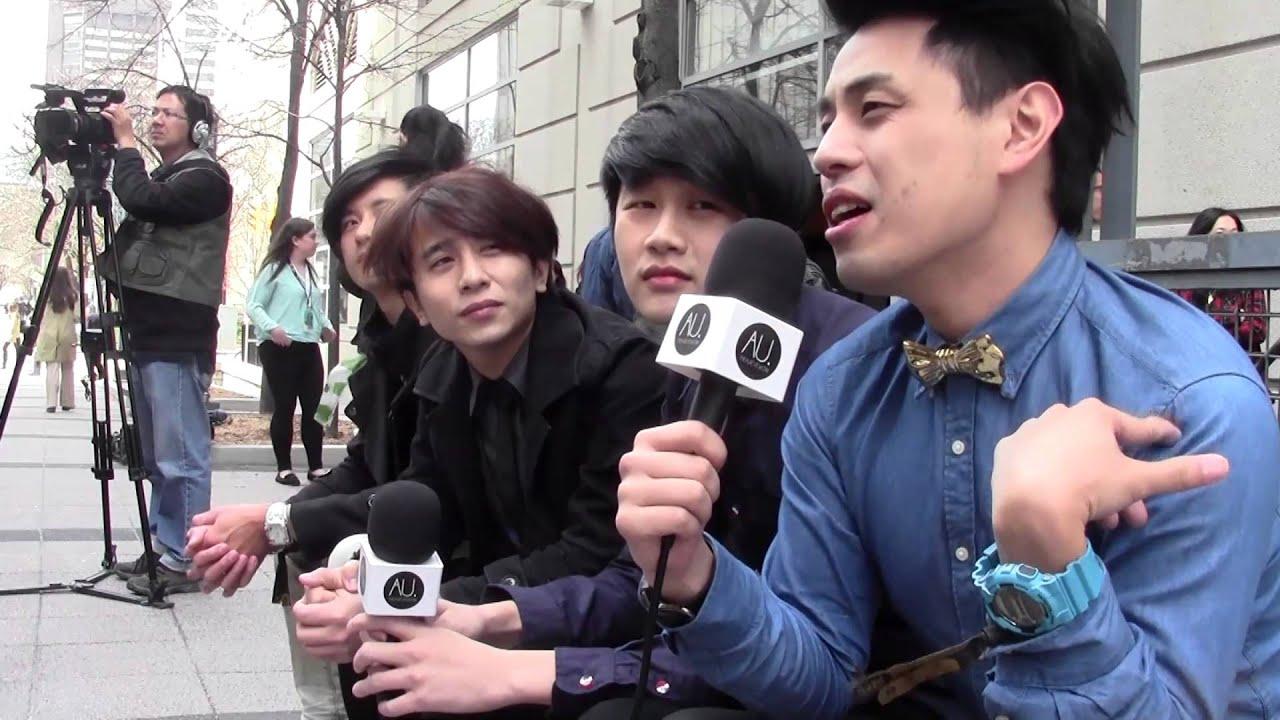Interview: io band (Taiwan Rock Group) io樂團 at Canadian Music Week (CMW 2014) - YouTube