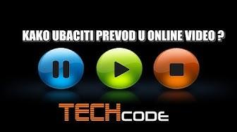 Kako ubaciti prevod u online video ? | Penguine Subtitle Player