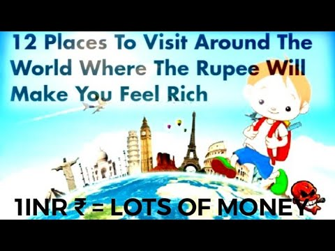 Top 10 Countries Where Every Indians Feel Rich| Country to travel in cheap/all entertainment